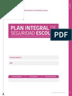 Formato Plan Integral de Seguridad Escolar
