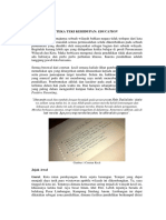 Pengalaman Pribadi mengenai Dunia Pendidikan.docx