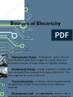 2 Sources of Electricity
