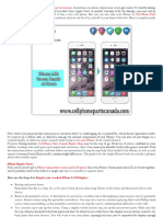 How to Repair Broken iPhone LCD Display | Cell Phone Parts Canada