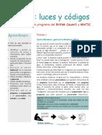 Ficha 1 Luces y Códigos