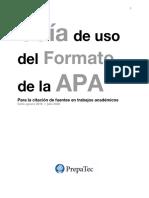 Guía APA 2019 - 2020