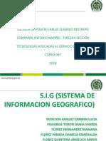 S.I.G Sistema de Informacion Geografica (2)