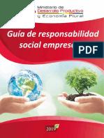 Guia de Responsabilidad Social Empresarial 2019 VPIMGE MDPyEP