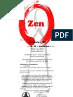 Retiro de Introducción a la meditación zen (zazen)