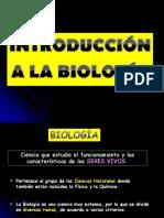 Introducción a La Biologia
