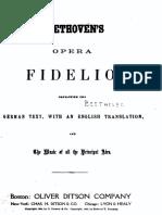 Beethoven 1422 Bk Fidelio