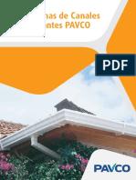 Manual Sistemas de Canales y Bajantes PAVCO
