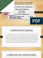Componente Radial y Transversal Final