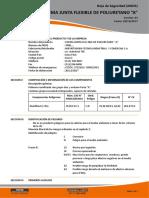 Hs Chema Junta Flexible de Poliuretano a y b v03.2017