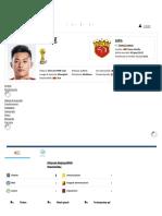 Huachen Zhang - Profilo Giocatore 2019 _ Transfermarkt