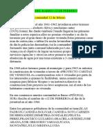 Historia Del Barrio 12 de Febrero