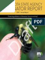 Draft Pollinator Report
