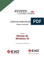 Unidad 2 Manejo de Windows 10 Manuales Mayores Conectados