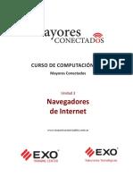 Unidad 3 Navegadores de Internet Manuales Mayores Conectados