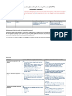 1. Business Risk Assessment - Template