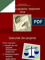 Autonomia Pacjenta i Testament Życia