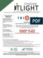 Employer Spotlight December 2019