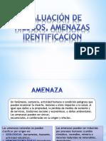 Evaluación de Riesgos, Amenazas Identificacion