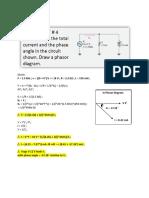 Phasor Sample Problem