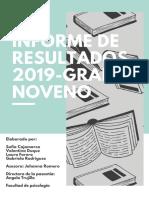 Informe de Resultados 2019-3