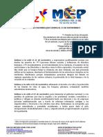 2019 11 20 Comunicado Final Con Logos MEP y DIPAZ