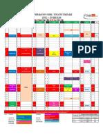 Timetable CFA L1 HCMC Jun 20 Exams as at 1 Nov 2019(1)