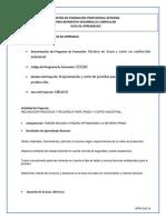 Gfpi-f-019 Guia Numero 1 Elaborar Trazo Analisis Actualizada