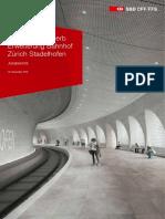 Projektwettbewerb Erweiterung Bahnhof Zuerich Stadelhofen