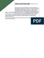 CDOT Pipe Material Selection Guide Rev 04-30-15