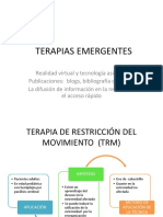 TERAPIAS EMERGENTES