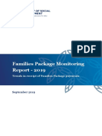 Families Package Monitoring Report