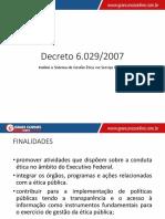 Aula 01 - Decreto 6.029-07 I