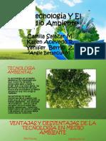 La Tecnología Y El Medio Ambiente.pptx