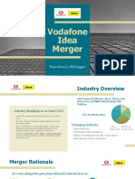 Idea-Vodafone Merger Analysis