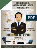 I Concurso de Razonamiento Lógico Matemático Prof. Víctor Manuel Luna Martti