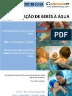 Aclimatização de bebés à água