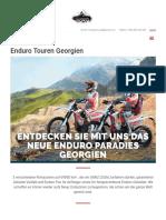Rimadventure Com de Enduro Touren Georgien