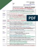 Programa para la  preparación de la confirmación