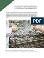 La Fragmentación y Globalización de Los Procesos de Producción Para Aumentar Su Eficiencia Es Una Práctica Común en Nuestros Días