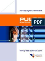Nursing Agency Software