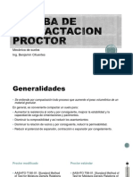 Prueba de Compactacion Proctor