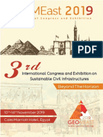 Program Book of GeoMEast 2019