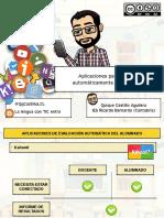 Aplicaciones para evaluar automáticamente al alumnado (Kahoot, Plickers, Quizizz y Socrative)