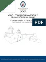 Educacion Sanitaria y Promocion de La Salud