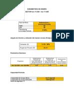 Parámetros de Diseño (1)