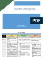 8vo Protocolo de Intervención - Articulación, Alimentación y Procesos Motores