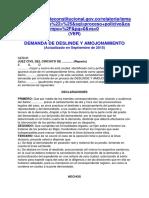Demanda de Deslinde y Amojonamient1