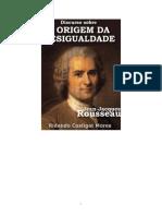 Discurso Sobre a Origem e Os Fundamentos Da Desigualdade Entre Os ... Rosseau