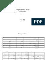 Adagio Score